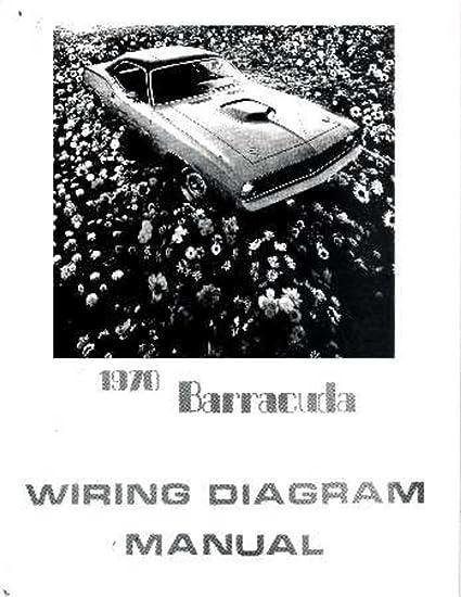 amazon com bishko automotive literature 1970 plymouth barracudaamazon com bishko automotive literature 1970 plymouth barracuda electrical wiring diagrams schematics factory oem book automotive