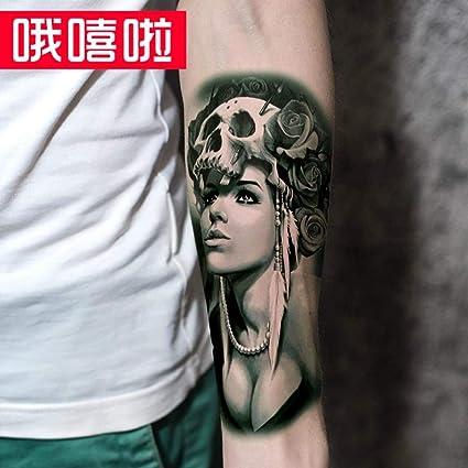 Tatuaje Pegatinas De Tatuaje Medio Brazo A Prueba De Agua Modelos ...