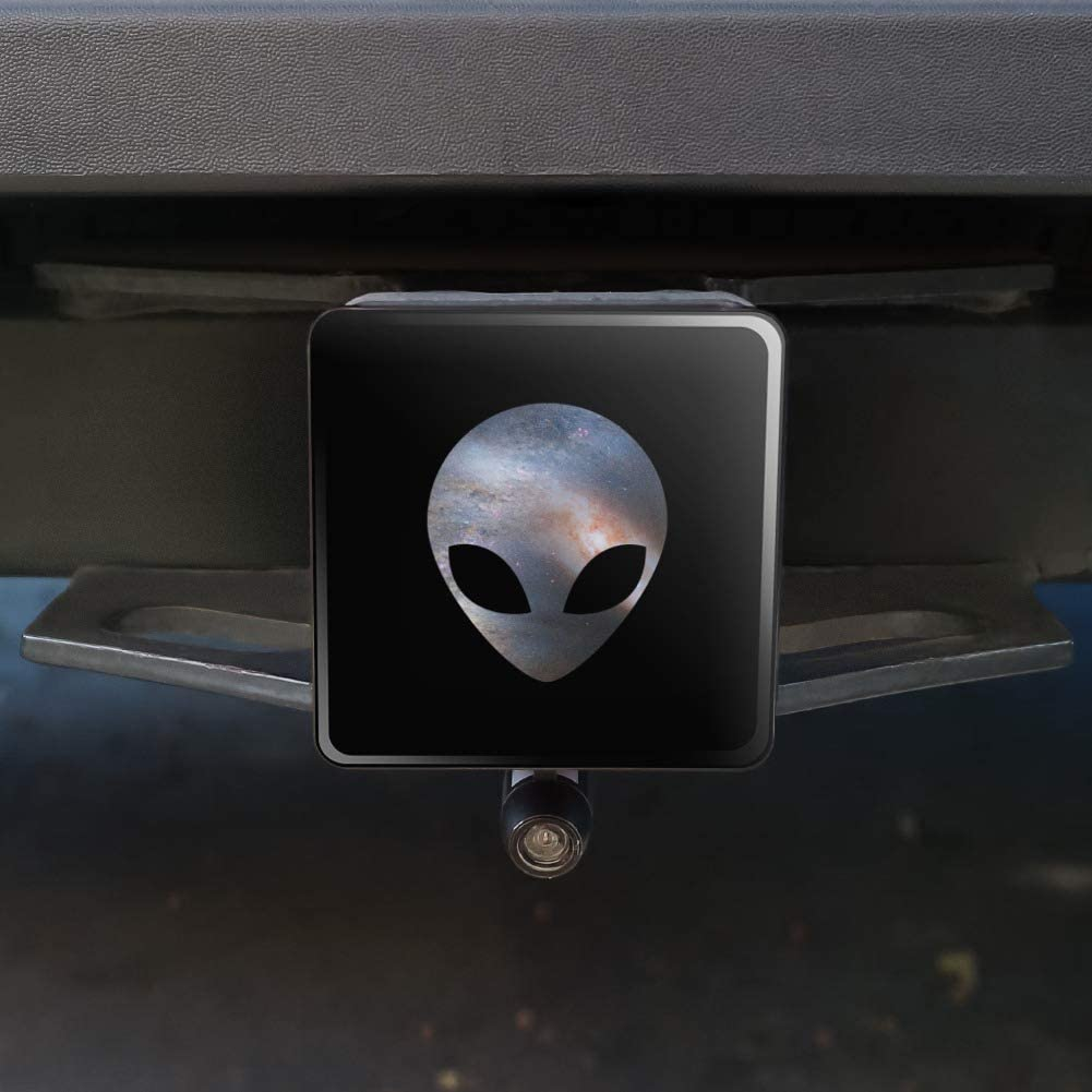 1.25 Graphics and More Alien Head in Space Tow Trailer Hitch Cover Plug Insert 1 1//4 inch