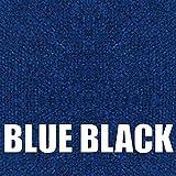 Boat Trailer Bunk Carpet (Blue Black, 16oz 12'' (in) Wide x 100' (ft) Long)