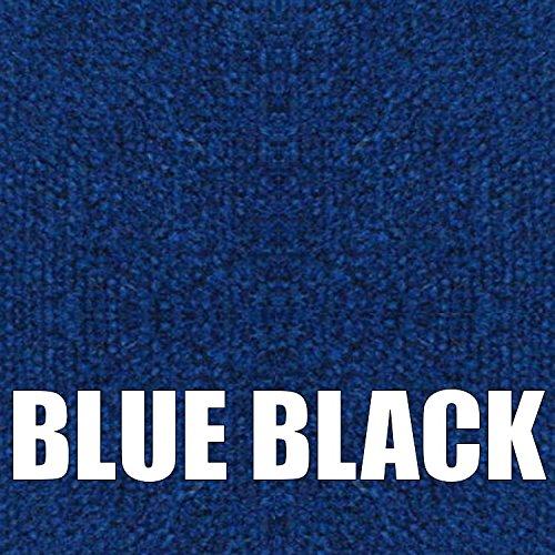 Boat Trailer Bunk Carpet (Blue Black, 16oz 12'' (in) Wide x 100' (ft) Long) by Lancer