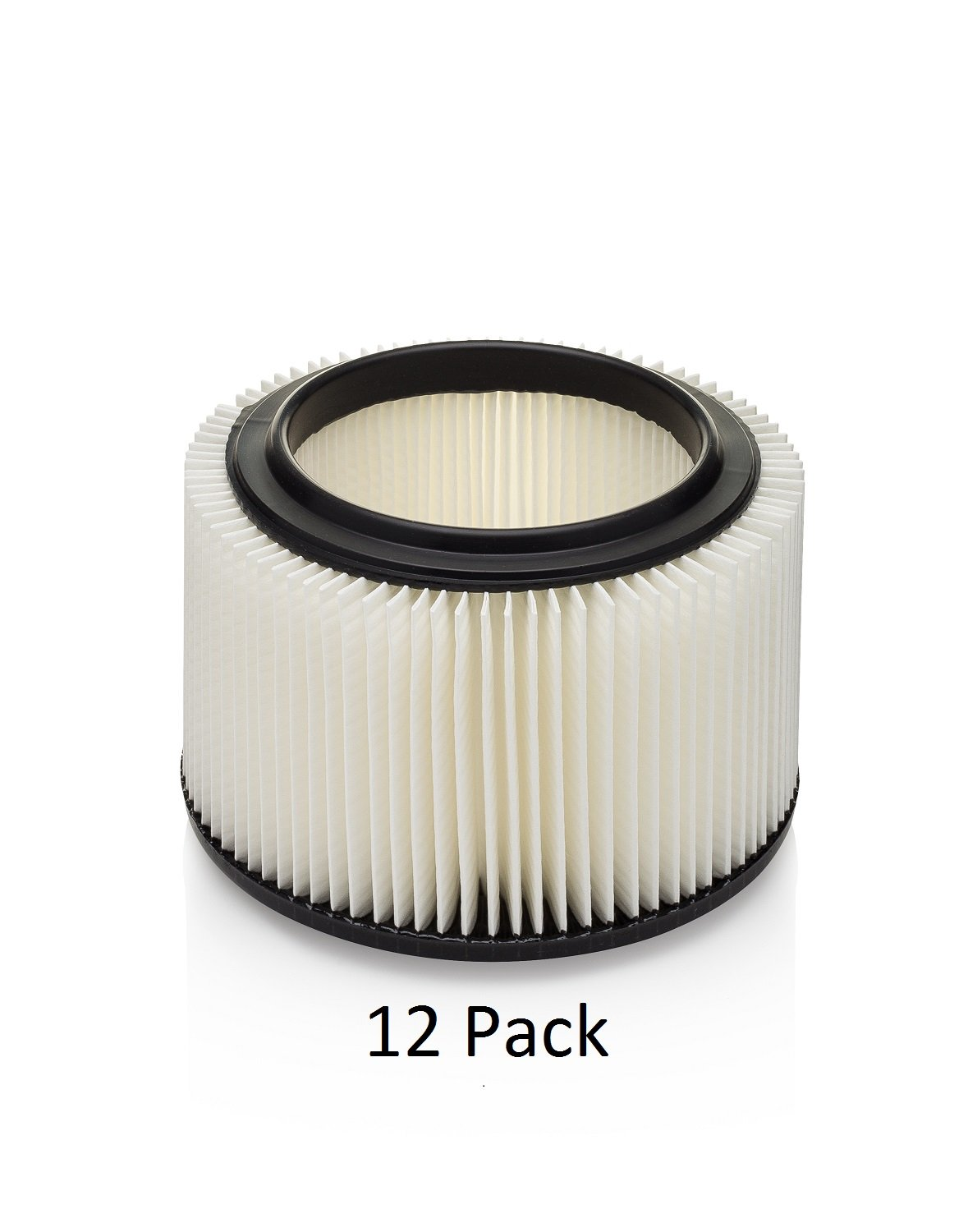 Kopach Replacement Filter for Masterforce 3 & 4 Vacuums, 12 Pack, Deluxe Fine Particle Filter