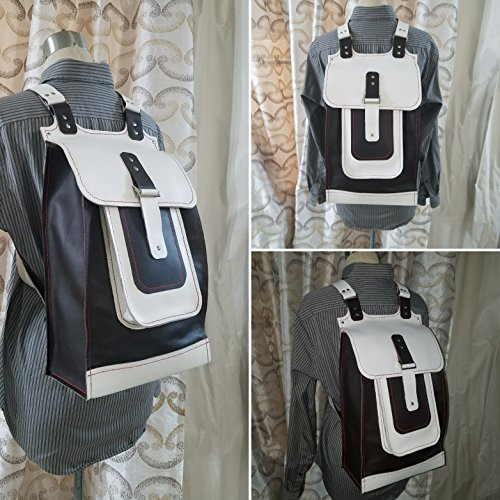JEM Hand Sewn Leather Travel Backpack by Herminia's Creations