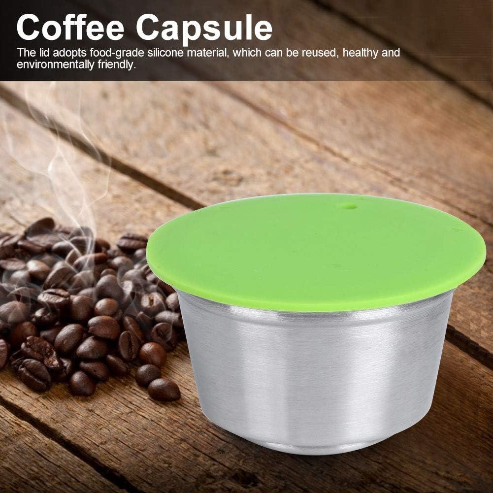 Green Oumefar Accessorio Ricaricabile per Macchina da caff/è Durevole per Macchina da caff/è Dolce Gusto