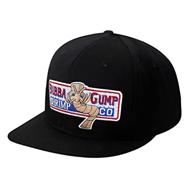 KVCOS Original tapa de Forrest Gump Bubba Gump Shrimp Co disfraz Cosplay ocio sombrero de béisbol - negro -: Amazon.es: Ropa y accesorios