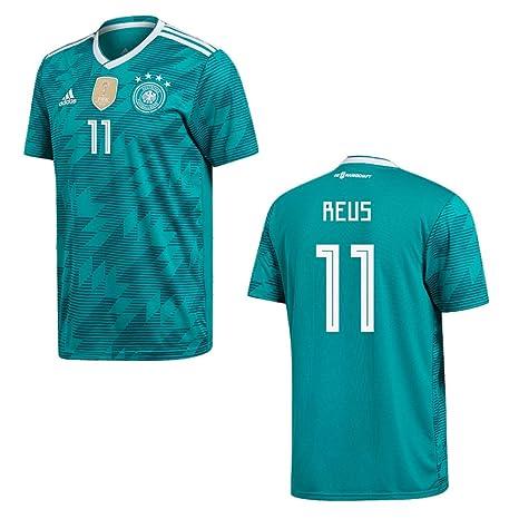 Camiseta de Adidas de la Federación Alemana de Fútbol, para niños, Reus 11,