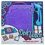Play-Doh DohVinci Anywhere Art Studio Easel & Storage Case Set