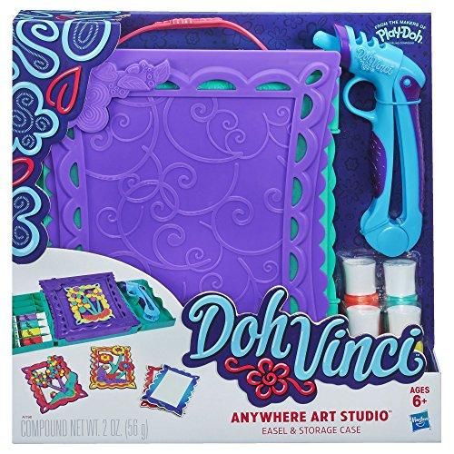 DohVinci Anywhere Art Studio Easel & Storage Case Set