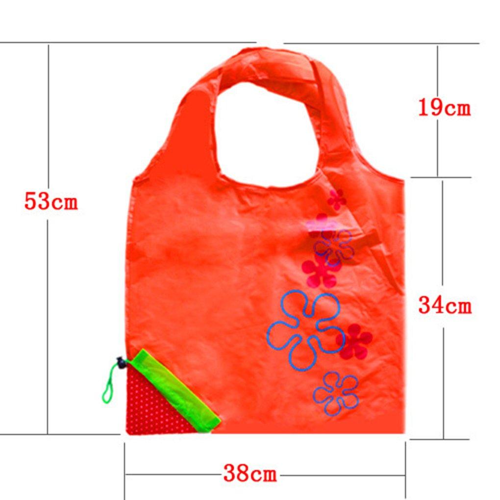 Royalr Fraise Pliable r/éutilisable Compact Eco Recyclage Sac fourre-Commercial