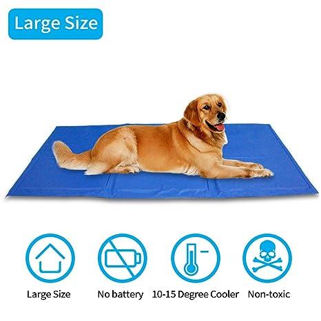 SehrGo - Colchón de refrigeración para Mascotas, Alivio del Calor, Alfombrilla no tóxica