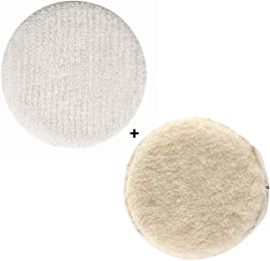 "Oreck Commercial Carpet Bonnet AND Lambs Wool Bonnet Orbiter Pads (12"") for ORB550MC Orbiter Floor Machine"
