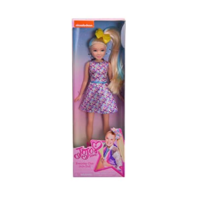 JoJo Siwa Doll - 11 inches - Wear and Share JoJo Bows (Everyday Chic JoJo Doll): Toys & Games