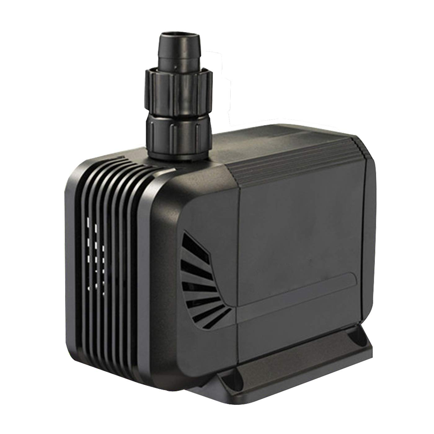 1500L/H, 15W Submersible Pump, Ultra Quiet Fountain Water Pump with 4.1ft Power Cord, Fish Tank, Pond, Statuary, Hydroponics