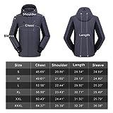 CAMEL CROWN Ski Jacket Men Waterproof Warm Cotton