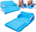 QDH air Mattress Inflatable Couch Home Air Sofa Bed Outdoor Inflatable