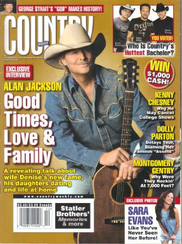 Country Weekly Magazine - Country Weekly Magazine, Volume 15, Number 6 (March 24, 2008)