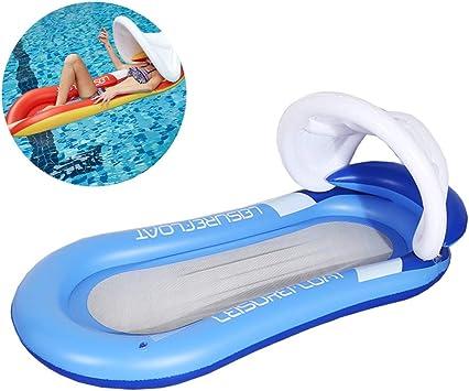 XMDFY Mejorar Colchón de Aire de Piscina de Playa Individual con ...