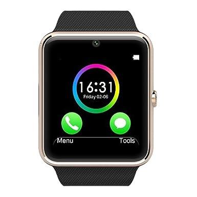 1.54 pulgadas gt08 Reloj de pulsera bluetooth Health Smart Watch Reloj Teléfono Móvil de muñeca de ...