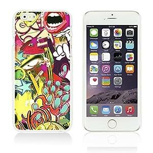 LJF phone case OnlineBestDigitalTM - Funny Pattern Hardback Case for Apple iPhone 6 (4.7 inch)Smartphone - Rock Graffiti