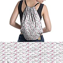 Paris dirt bike drawstring bag Elements City of Paris Love Cheese Pie Cat and Other Things Famous Tourist Capitalwaterproof Multicolor