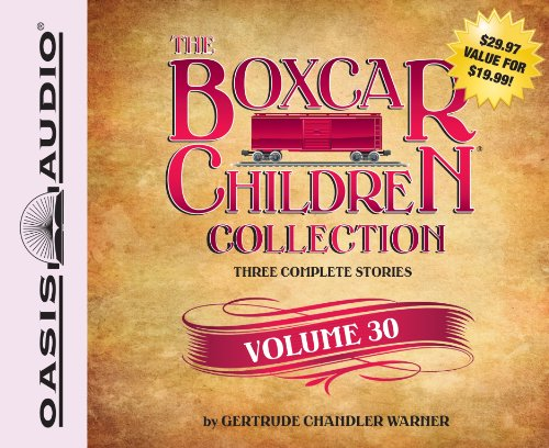 The Boxcar Children Collection Volume 30 (Library Edition): The Mystery of the Mummy's Curse, The Mystery of the Star Ruby, The Stuffed Bear Mystery