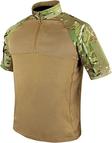Condor Outdoor Camisa táctica de combate de manga corta