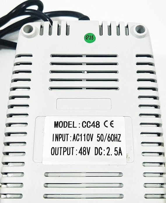Amazon.com: MingYang Motor 48 Voltios 2,5 Amp 110 V ...