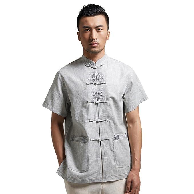 Amazon.com: fangner traje de estilo tradicional chino Kung ...