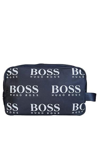 94e990729712a Amazon.com | HUGO BOSS Mens Messenger/Shoulder Bag ICONIC WASHBAG 50402917 Size  ONE SIZE Black | Messenger Bags