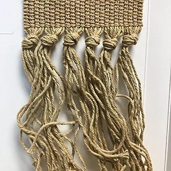Amazon Com Style 391 Cotton Knotted Carpet Fringe 10 Feet 391 Beige Kitchen Amp Dining