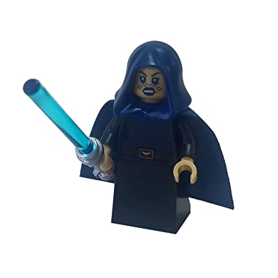 LEGO Star Wars - Jedi Master Barriss Offee Minifigure with Lightsaber: Toys & Games