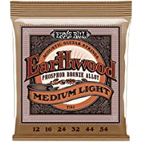 Ernie Ball 2146 Earthwood Medium Light Acoustic Phosphor...