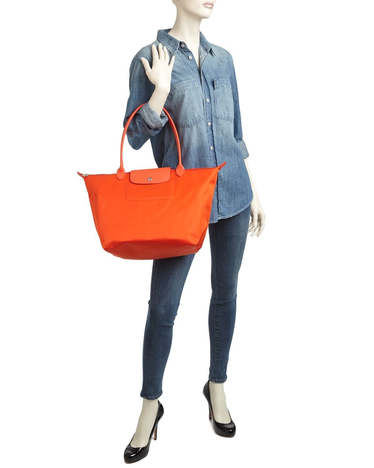 Longchamp Large Shoulder Tote Le Pliage Neo Lc030 Longchample Medium The City Clementine Beauty