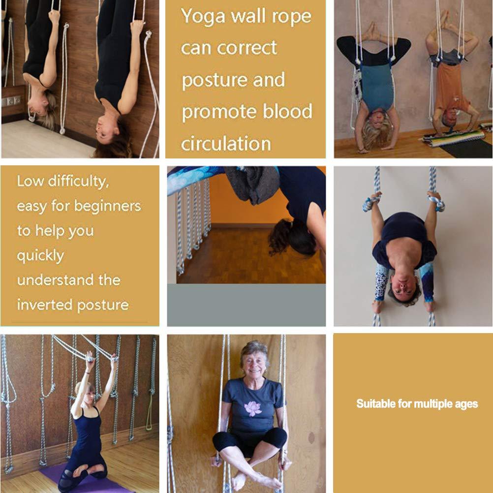 Kit de cuerda para colgar en la pared para yoga, incluye ...