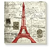 CounterArt Decorative Absorbent Coasters, Vintage Paris, Set of 4