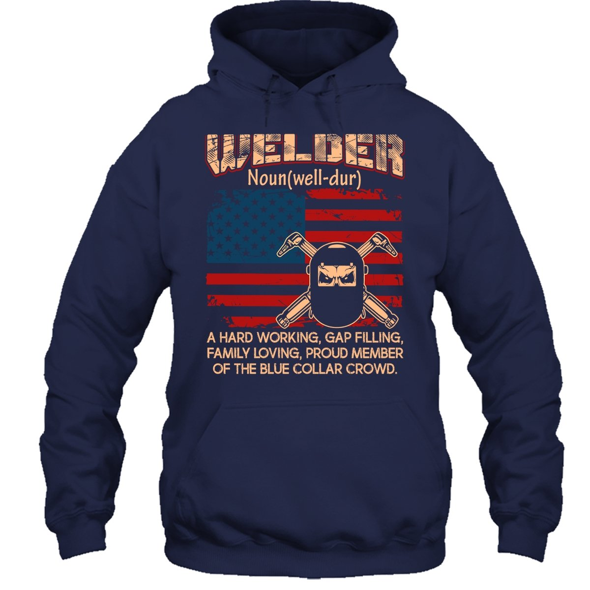 Zira-S Welder T-Shirt Welder Flag Definition Tee Shirts For Someone Special