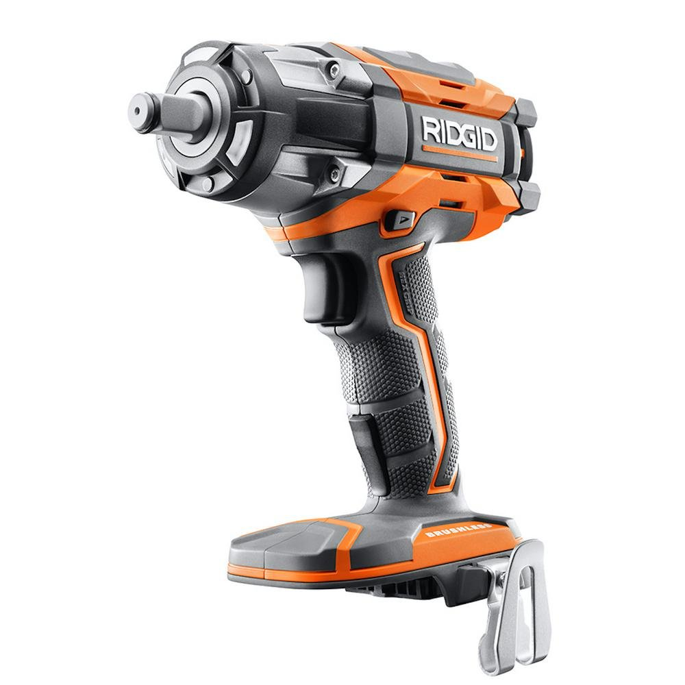 Ridgid R86011B 18V GEN5X Cordless Brushless 1 2 Impact Wrench Bare Tool