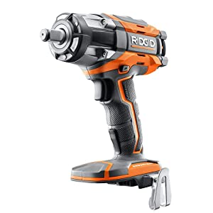 Ridgid R86011B OCTANE 18V Lithium Ion Cordless 1/2 Inch Impact Wrench w/ Belt Clip (Battery Not Included, Bare Tool Only)
