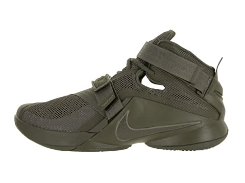 4454dc88c23 Nike Lebron Soldier IX PRM Medium Olive Mens Basketball Shoes Size 13  Buy  Online at Low Prices in India - Amazon.in