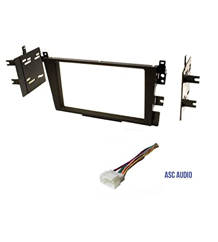 Car Stereo Dash Kit and Wire Harness for Installing a Double Din Radio for 2000 - 2003 Acura CL 1999 - 2003 Acura TL