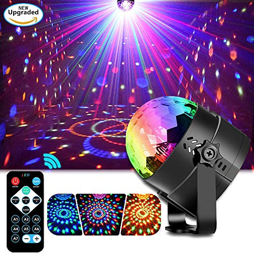 EOYIZW Party Lights Disco Ball 3 in 1