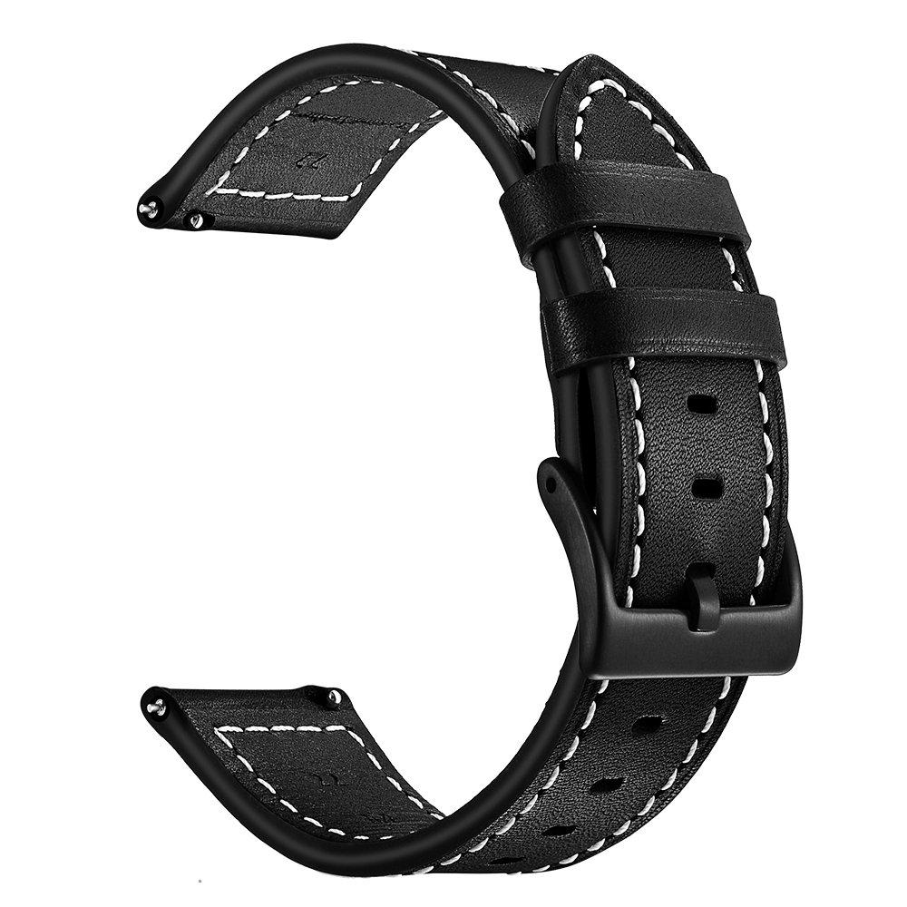 Amitel For Tic Watch Pro Correa de Piel, 22 mm, Correa de ...