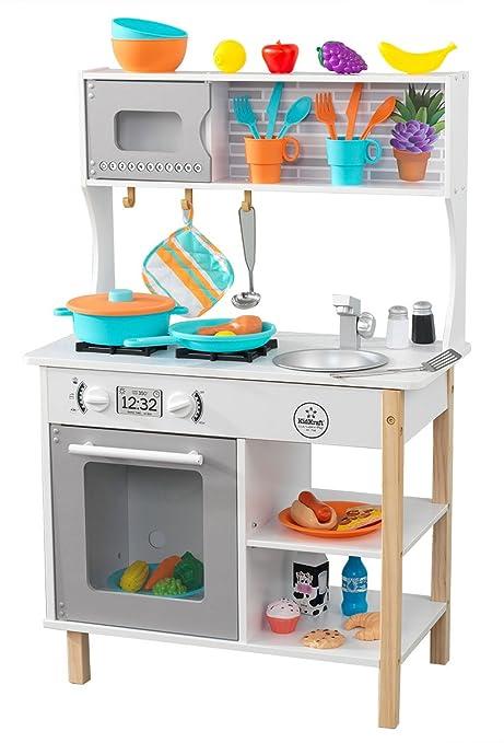 KidKraft 53370 Cucina giocattolo in legno per bambini All Time con ...