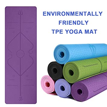 BARCTELRT Estera de Yoga de Maternidad de Microfibra para El ...