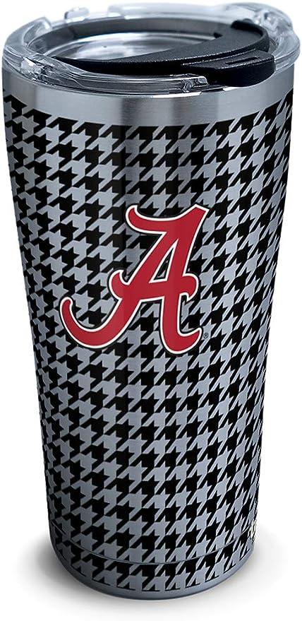 Gametime Sidekicks Alabama 20oz Crimson Stainless Steel Cup w//Stripes
