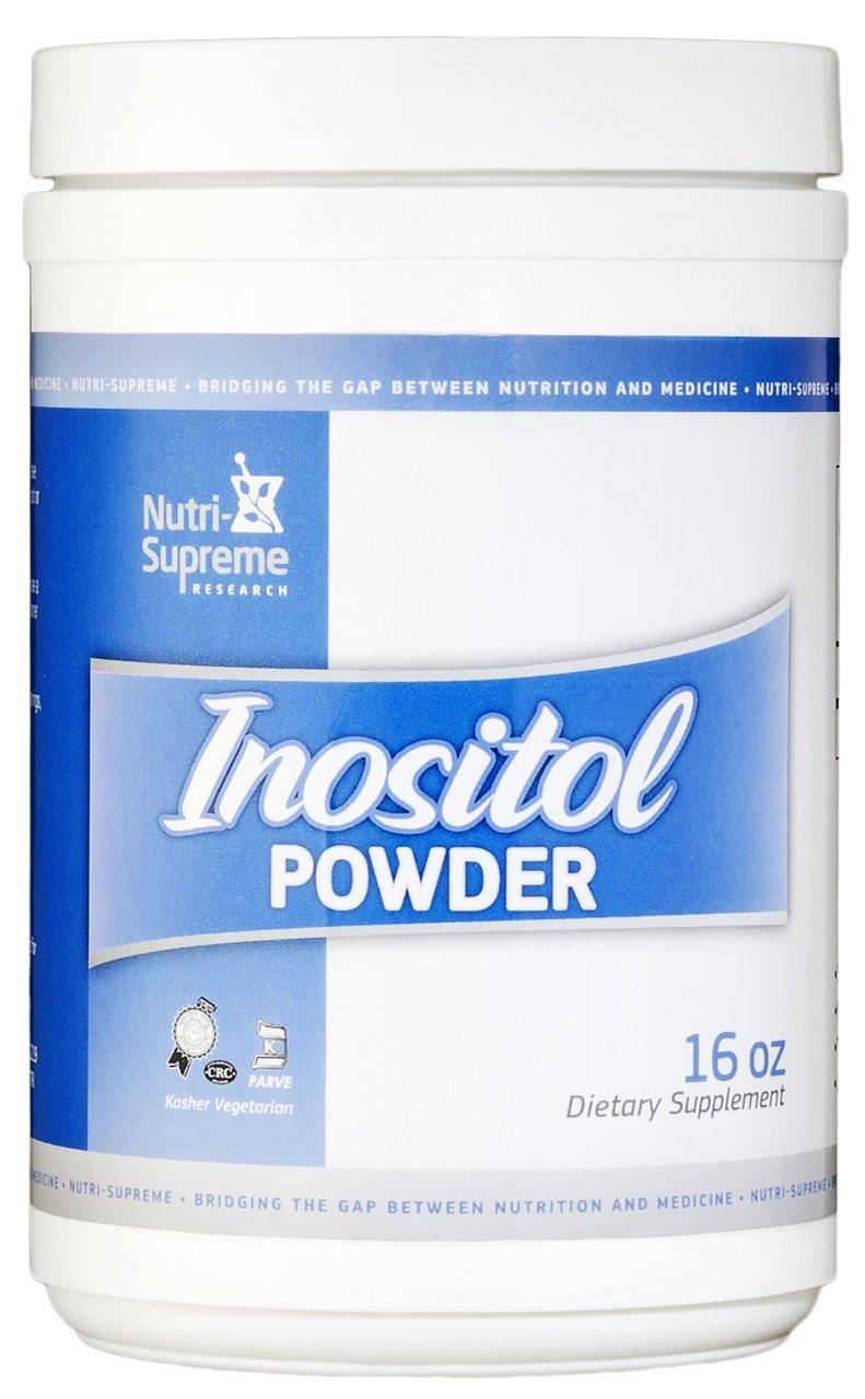 Nutri- Supreme Research Inositol Powder 16oz