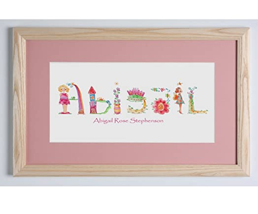 Personalised baby gift baby name picture baby girl keepsake personalised baby gift baby name picture baby girl keepsake gift picture negle Choice Image