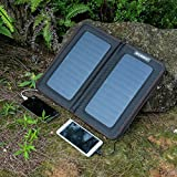 ECEEN 13 Watts Foldable Solar Panel Bag Portable Solar Charger Pack Kits for iPhones, iPads, Samsung Galaxy Phones, Other Smartphones and Tablets, Gopro Cameras and More (13 Watts)