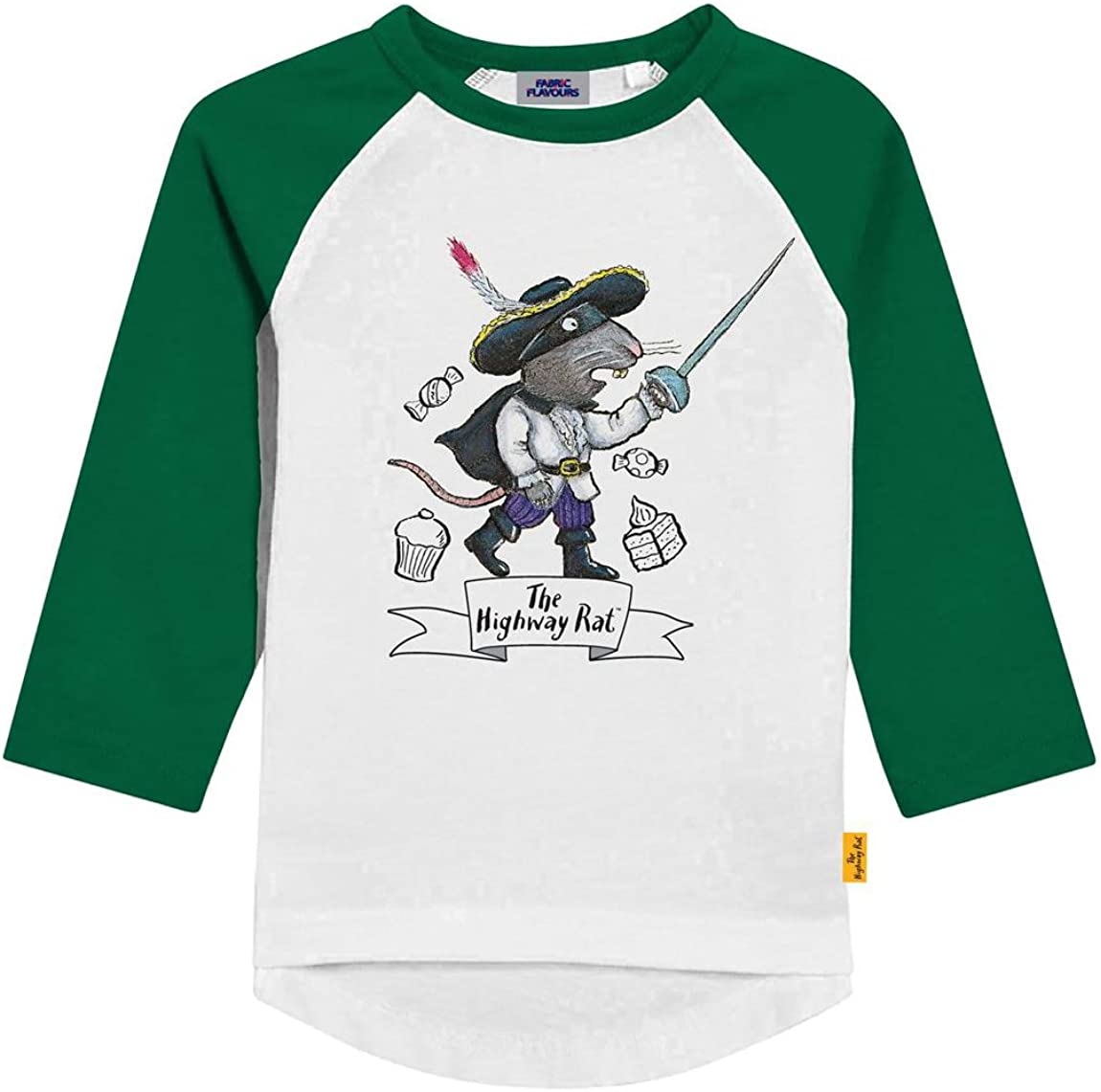 Fabric Flavours The Highway Rat Long Sleeve Raglan T-Shirt