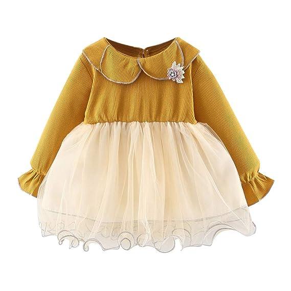Vestidos Bebe Niña, Recién Bebé Niñas Tutú Princesa Vestido ...